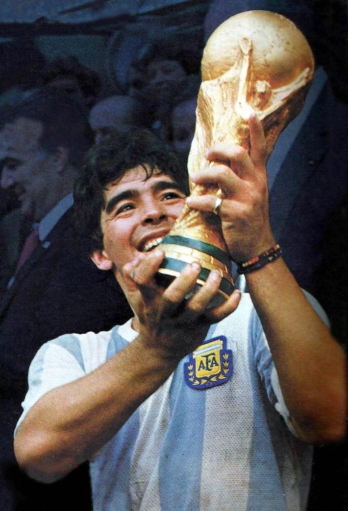 Fallece Maradona