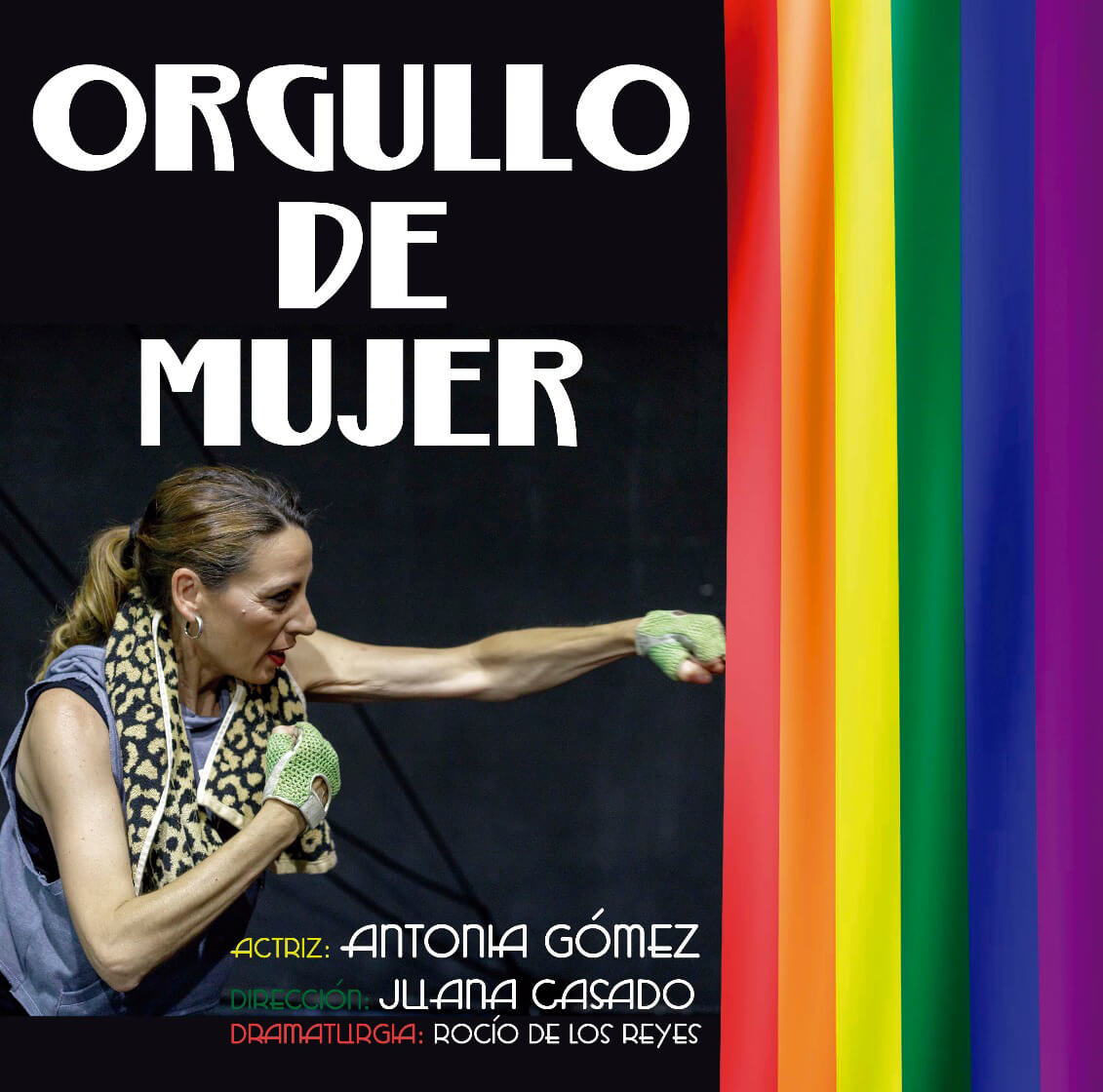El espectáculo 'Orgullo de Mujer' en el Teatro Villa de Molina