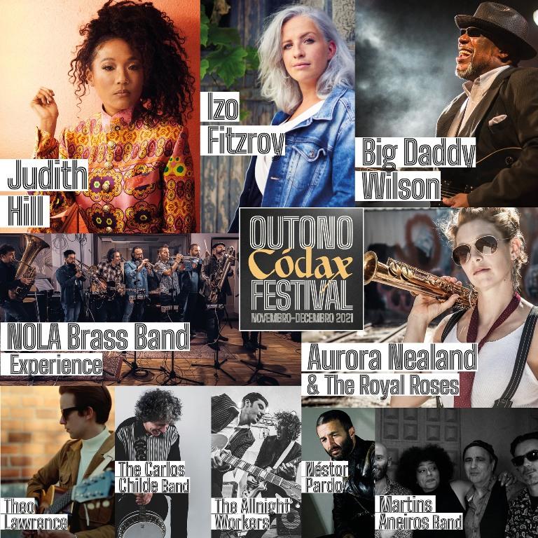 Outono Codax Festival 2021 Santiago