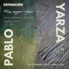 Exposición de pintura de Pablo Yarza en el Restaurante Raspón