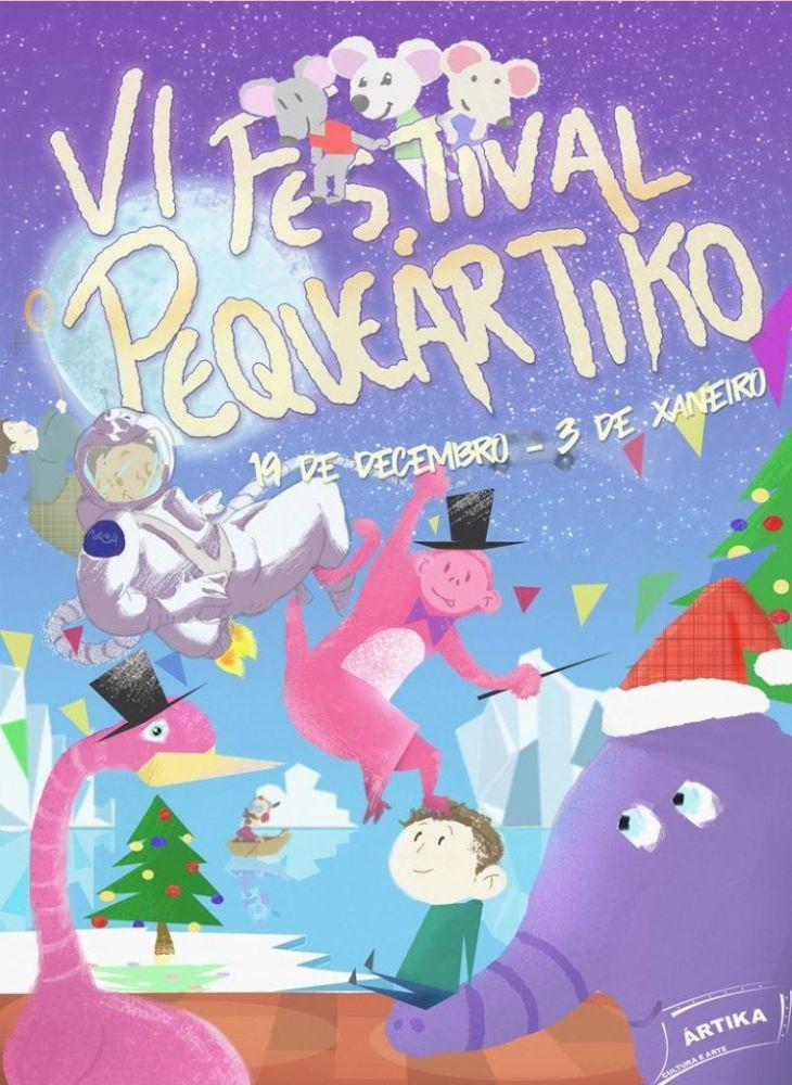 Festival PequeÁrtiko de navidad en la sala Ártika de Vigo