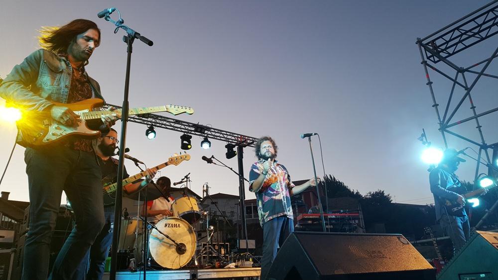 The soul Jacket concierto en el auditorio municipal de Vigo