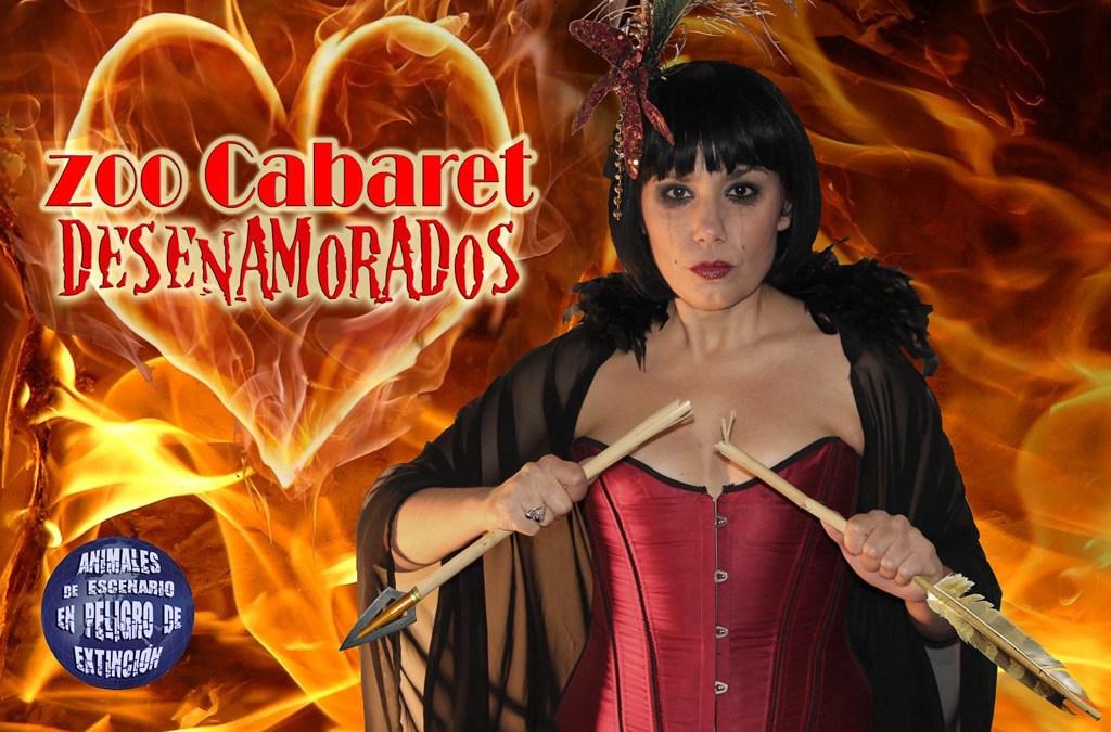 Zoo Cabaret presenta 'Desenamorados' en el Auditorio de Algezares