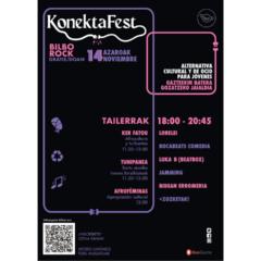 KonektaFest en Bilborock el próximo 14 de noviembre