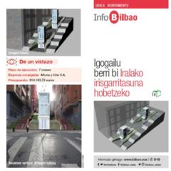 El Ayuntamiento de Bilbao edita tres InfoBilbao con mejoras de accesibilidad