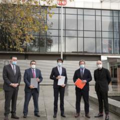 La exposición de Olt Aicher conmemora el 25 aniversario del Metro Bilbao