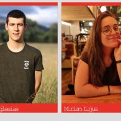 Miriam Lujua y Eleder Iglesias los primeros instagramers del Ayuntamiento de Bilbao