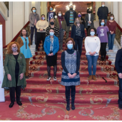 Bilbao muestra su rechazo a la violencia machista con una lectura institucional y participativa