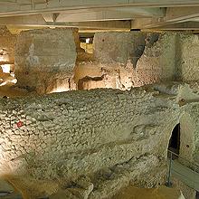 Exposición permanente del Museo del Foro de Cesaraugusta en Museo del Foro Caesaraugusta en Zaragoza