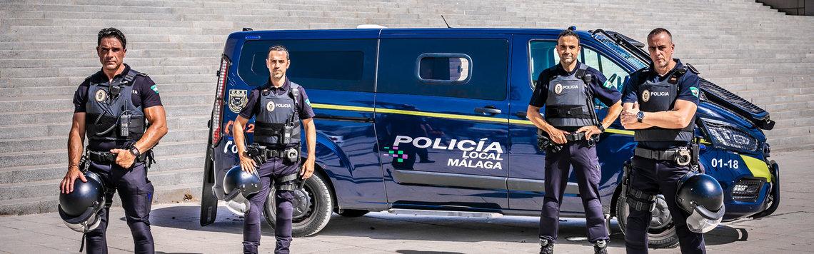 policia local de Málaga