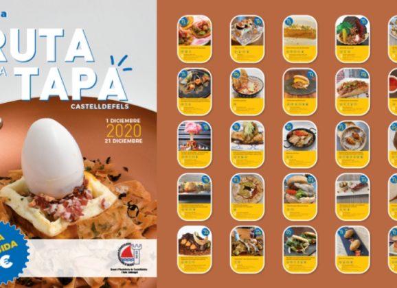 13ª RUTA DE LA TAPA CASTELLDEFELS 2020
