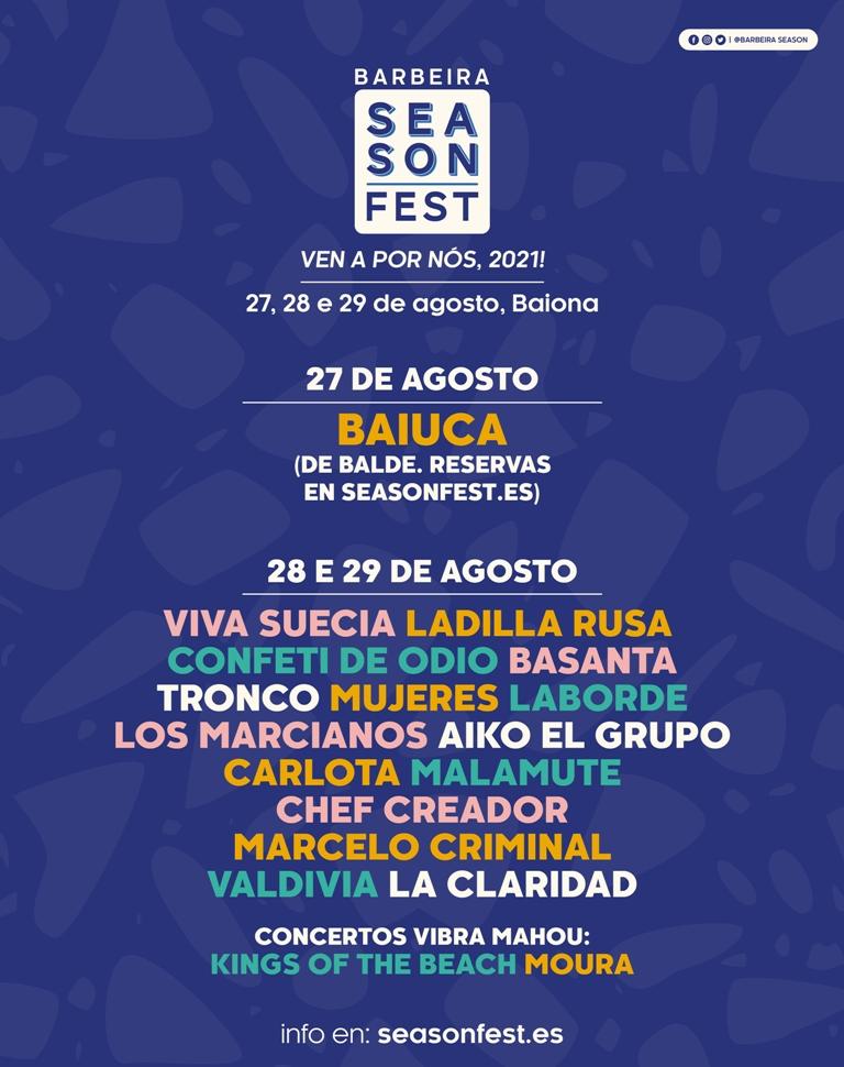 Barbeira season fest Baiona