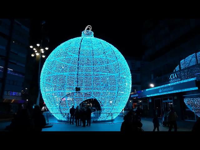 Bola de nieve Programación Navidad Vigo