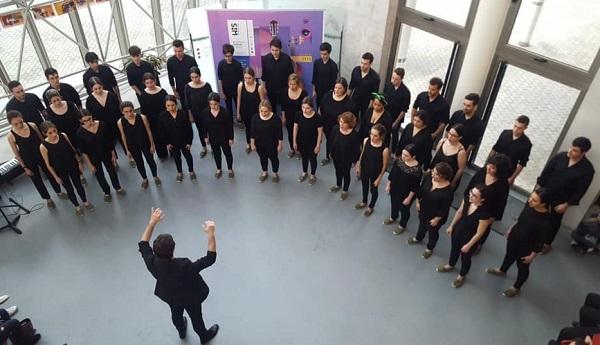 El Coro Joven de Santander en el Palacio de Festivales