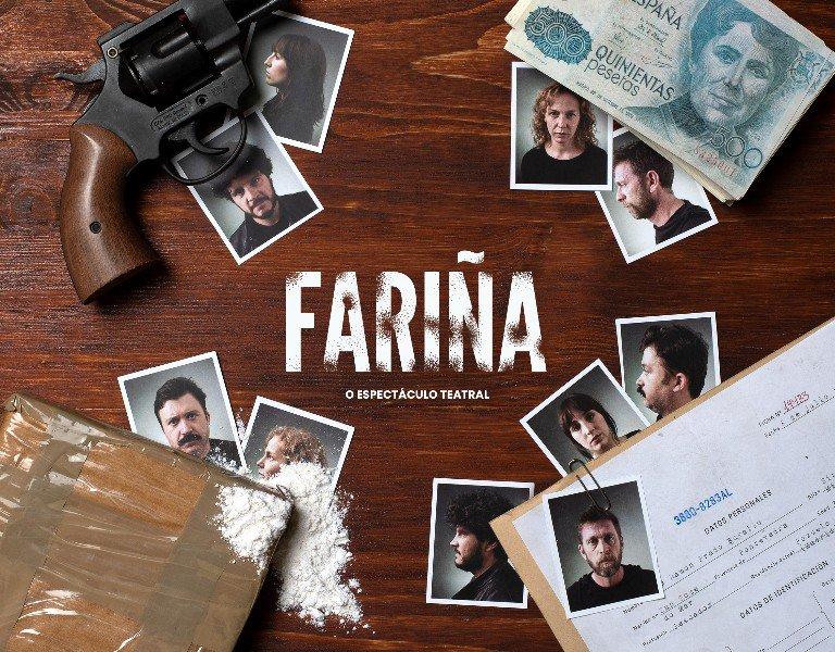 Fariña, obra de teatro en el pazo da cultura de Pontevedra