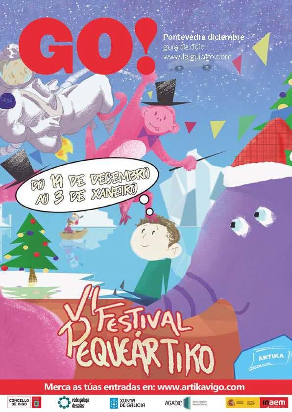 Revista Go! Pontevedra diciembre; Disfruta de la Navidad