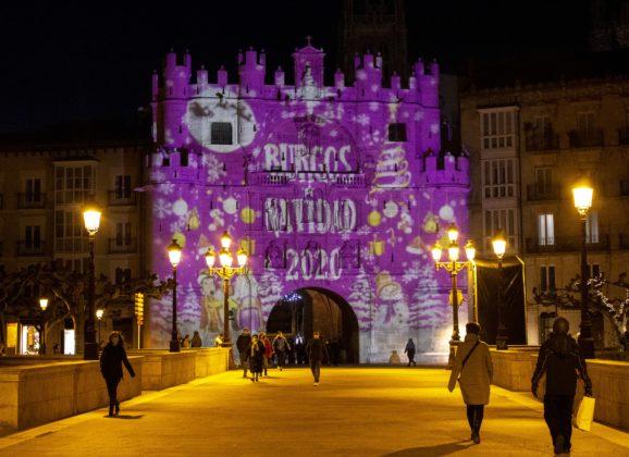 Luces de Navidad en Burgos para iluminar un año atípico