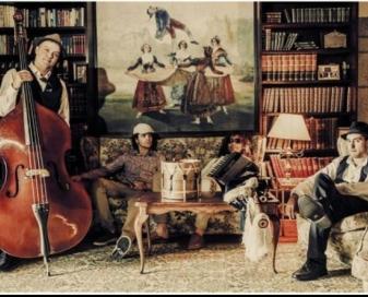 Pillabands concierto en el auditorio da Xunqueira de Redondela