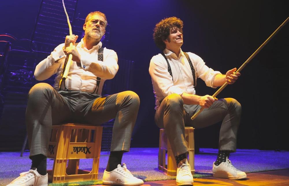 Somos Criminais, teatro con Carlos Blanco y Xosé Touriñán en A Coruña