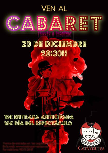 `Ven al Cabaret´en el Teatro Cervantes