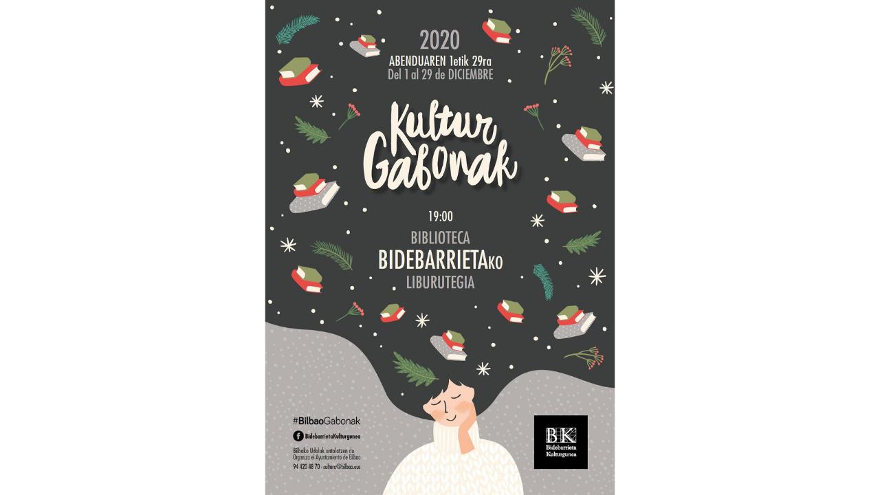 Bidebarrieta Kulturgunea celebrará #BilbaoGabonak con tres conciertos