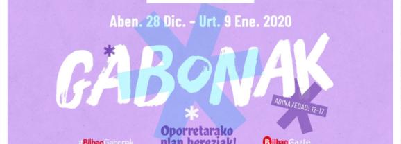 El Ayuntamiento de Bilbao pone en marcha #GazteKluba Gabonak con 18 actividades