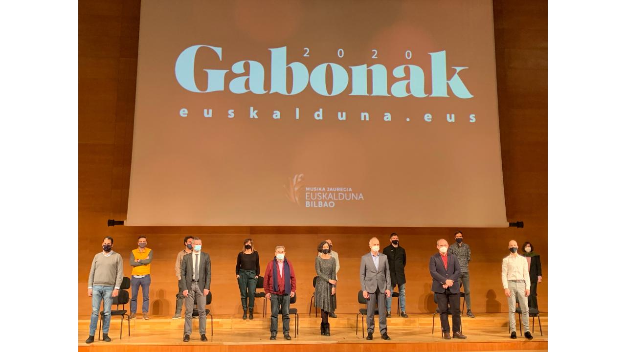 «Gabonak Euskalduna 2020» ofrecerá 16 espectáculos durante las Navidades