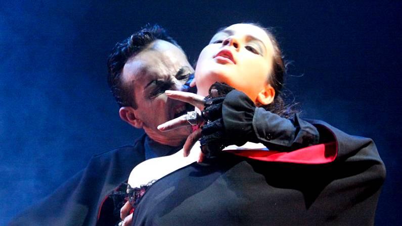 Drácula, el musical, espectáculo en Cangas