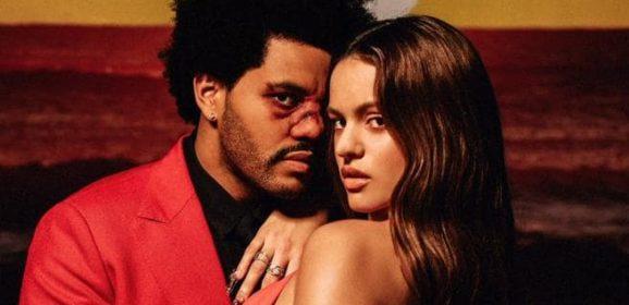 Rosalía y The Weeknd anuncian el remix de 'Blinding Lights'