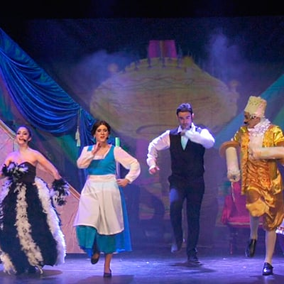 la bella y la bestia el musical en Granada