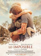 Estreno de Lo imposible el 10 de noviembre