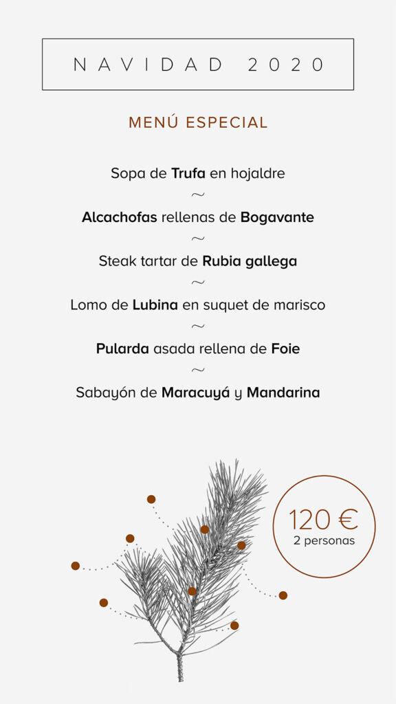 menu especial 2020
