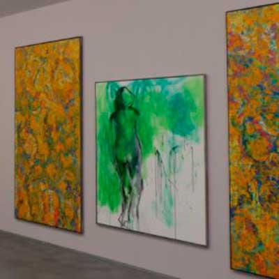 Presente y vuelta al pasado. Las pinturas sucias de Jorge Rando en Museum Jorge Rando en Málaga