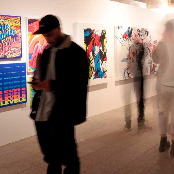 Urvanity Art Fair 2021 en Colegio Oficial de Arquitectos de Madrid