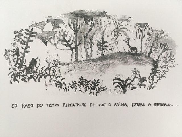 A caza exposición Alberto Vázquez Santiago