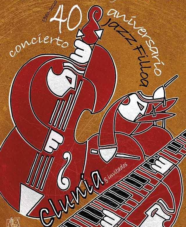 Clunia jazz concierto Coruña