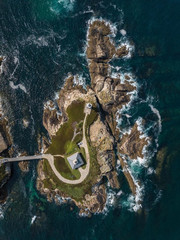 Faros de Galicia. Faro de Isla Pancha