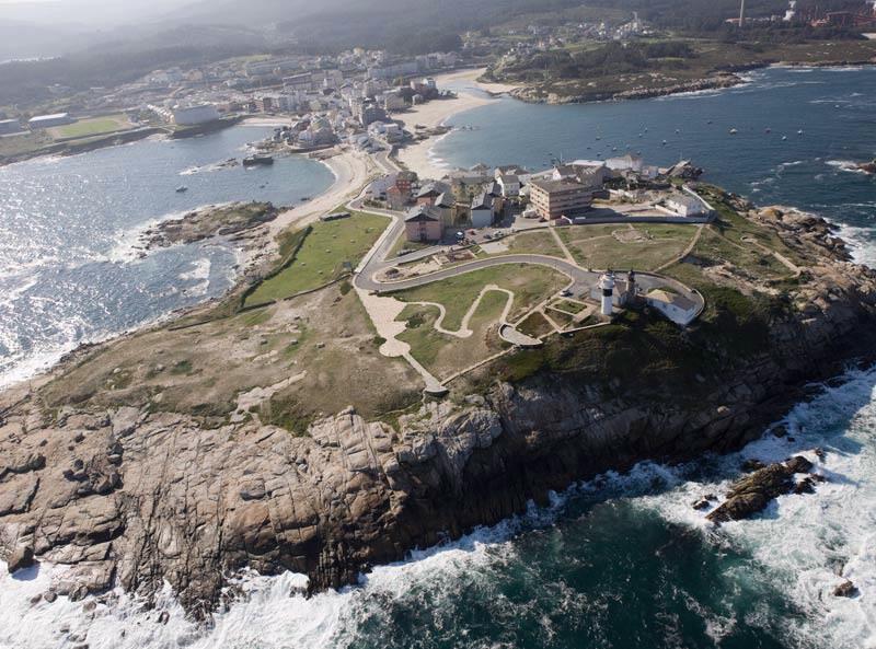 Faros de Galicia. Faro de San Cibrao