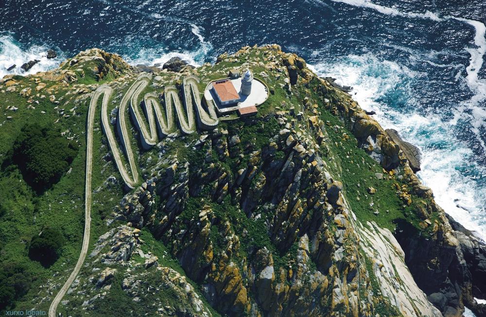 Faro islas Cíes. Faros de Galicia