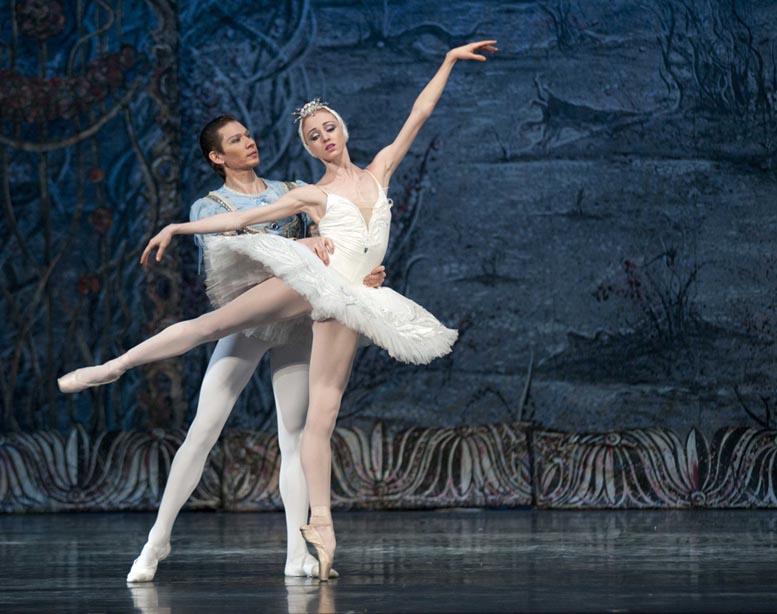 Lago de los cisnes ballet imperial ruso Santiago