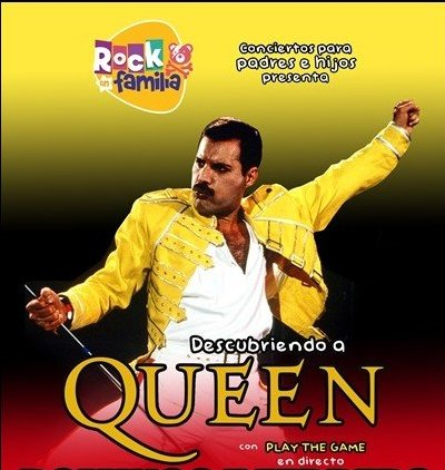 Rock en familia Queen Concierto familiar Santiago