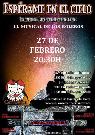Espérame en el Cielo en el Teatro Cervantes