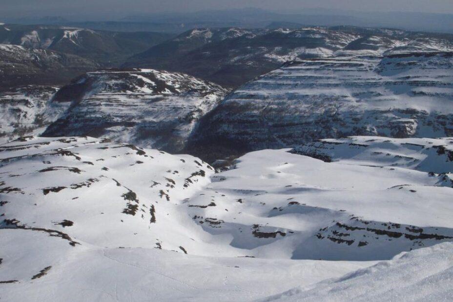 excursiones con nieve burgos
