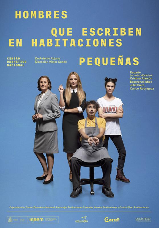 teatro hombres que escriben en habitaciones pequenas itsas etxea auditorium hondarribia