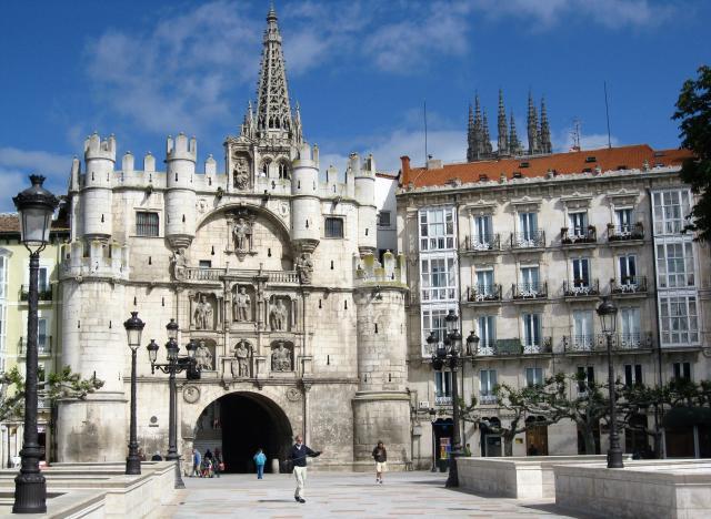 Arco de Santa Maria. Monumentos de Burgos