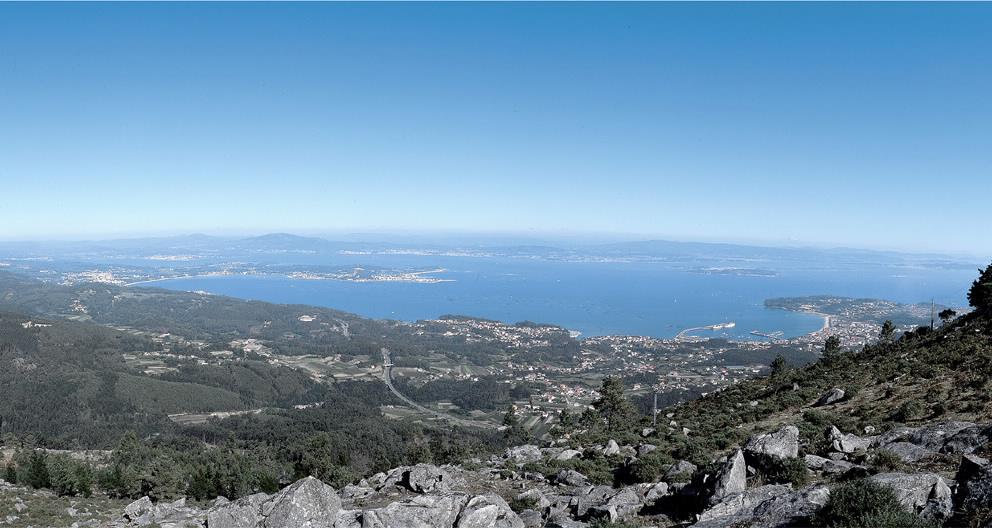 Curotina miradores imprescindibles Pontevedra