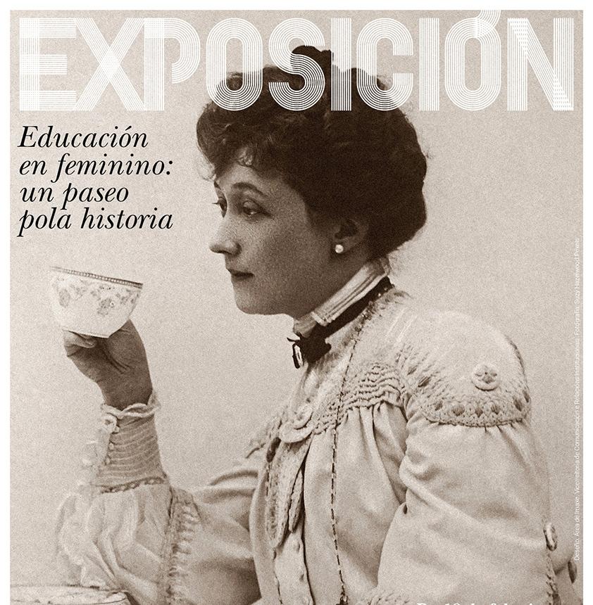 Educacion en feminino exposición Pontevedra