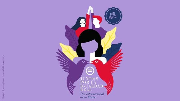 El dia Internacional de la mujer con la cultura