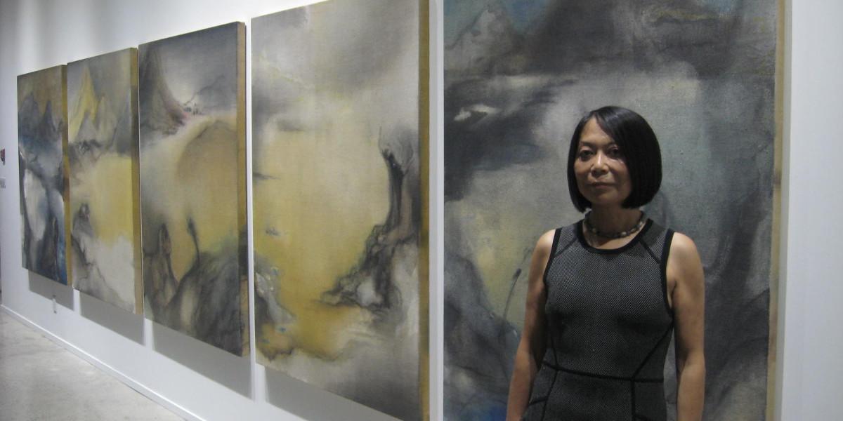 La exposición de Leiko Ikemura en el CAB de Burgos