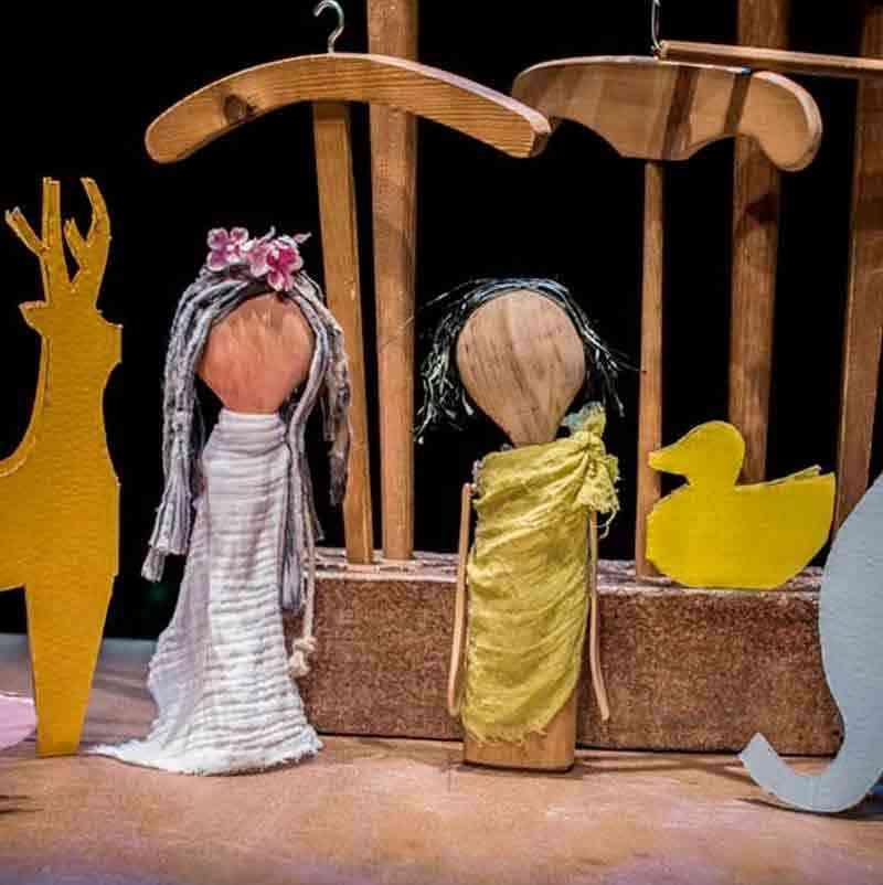 Orfeo y Eurice, títeres para niños en el auditorio de Vigo